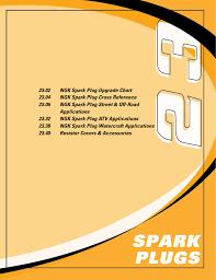 Yamaha Spark Plug Chart 23 02 Ngk Spark Plug Upgrade Chart 23 04 Ngk Spark Plug