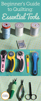 151 best Quilting Tools images on Pinterest | Stitching, Desk and ... & Beginner's Guide to Quilting: Essential Tools & Supplies Adamdwight.com
