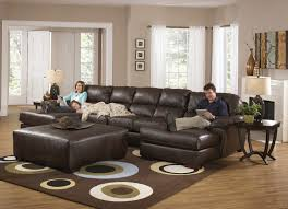 Leather Sectional Living Room Leather Sectional Sofa With Chaise With Elegant Living Room Grey
