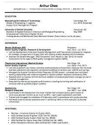 Certified Quality Engineer Sample Resume Interesting Quality Engineer Sample Resume Kenicandlecomfortzone