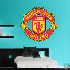 on manchester united wall art with manchester united wall art decal wallart studios