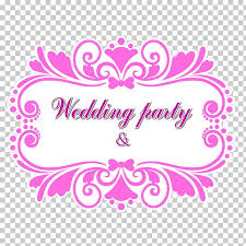 Wedding Title Wedding Logo Weddings Title Frame Wedding Party