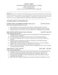 Entry Level Financial Analyst Resume Pohlazeniduse