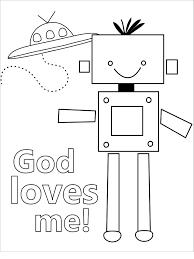 Jesus Loves Me Coloring Pages Printables God Loves Me Coloring