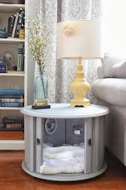 fancy dog crates furniture. View In Gallery Elegant Dog Bed With Beautiful Wall Art Decor Inside Fancy Crates Furniture