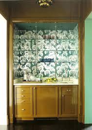 Katie Ridder Leaf Wallpaper For Sale Rooms Bar .