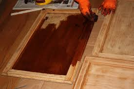 image of how to paint kitchen cabinets antique finish