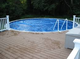 astounding look of above ground pool deck design ideas captivating design ideas using white iron