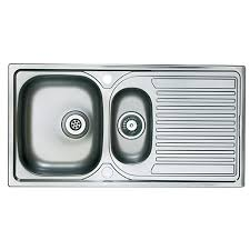Wickes ROK Metallic 1 12 Bowl Kitchen Sink Black £99  Kitchen Kitchen Sinks Wickes