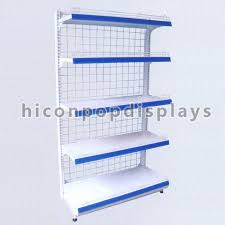 Free Standing Retail Display Units Grocery Store Retail Gondola Shelving Units 100 Tier Free Standing 60