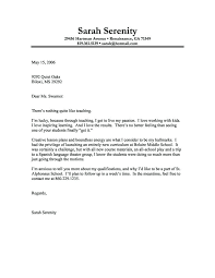 Best Examples Of Cover Letters Cover Letter Best Best Sample Cover
