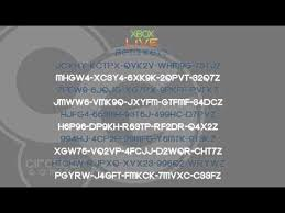 They are either expired or are not currently valid. Free Xbox Live Code Generator No Survey Or Download Elyellow