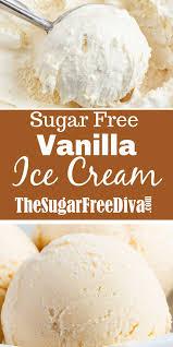 Chocolate chip cookie vanilla ice cream on dine chez nanou. The Recipe For Delicious Sugar Free Vanilla Ice Cream