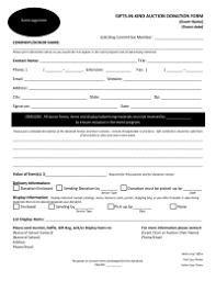 Sample Donation Form Fundraiser Forms Letters Pto Today