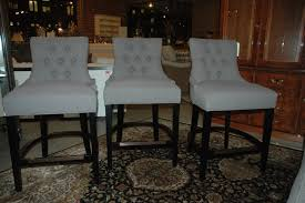 gray leather counter chairs backless stools height barols grey with backs nailheads bar barrel back swivel