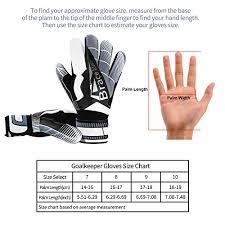 Goalie Gloves With Fingersaves Black 3 3mm Latex Soccer Gloves Goalkeeper Glove For Youth Kids Adult Black White 10