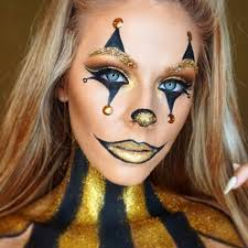 glam clown makeup picture1