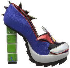 Toy Story Arch Enemies Light Up Heels Irregular Choice Womens Arch Enemies Platform Heels