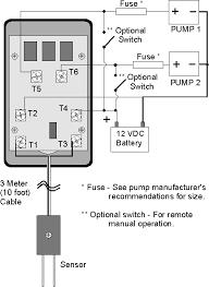 cruzpro efs20 marine dual bilge pump controller electronic float efs20 automatic dual bilge pump controller internal connection diagram
