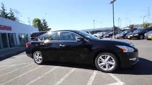 nissan altima 2015 black. Beautiful Altima 2015 Nissan Altima 25 SV  Super Black FC102455 Kent Tacoma For