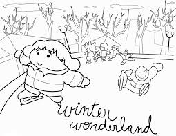 Free Winter Coloring Pages New Little Girl Coloring Pages Elegant