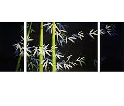 canvas art landscape canvas prints bamboo painting asian decor wall art