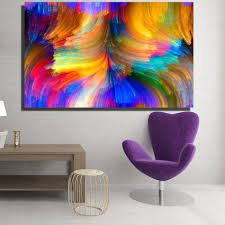 multi colored canvas paintings awesome 2018 modern canvas prints oil painting abstract abstract bright pictures