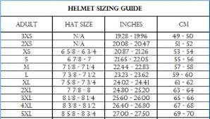Motor Size Chart Helmet Sizing Guide Common Motor Collective