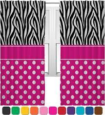 Pink And Zebra Bedroom Pink Zebra Curtains