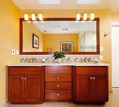 bathroom mirrors with lights above. Case Design/Remodeling, Inc. Contemporary-bathroom Bathroom Mirrors With Lights Above M