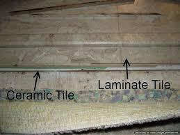 flooring over tile install laminate flooring over ceramic tile for floating wood floor over tile