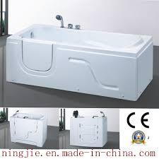 china acrylic old person soaking hot tub t177 china hot tub sanitary ware bathtub