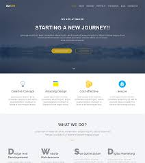 free html5 web template baker free onepage bootstrap theme bootstrapmade