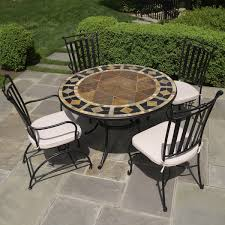 round patio. Round Patio Furniture, Restaurant Furniture Mosaic For Table
