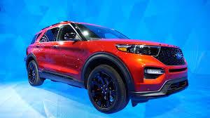 2020 Ford Explorer Color Chart 2019 Detroit Auto Show 2020 Ford Explorer