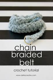 Crochet Belt Pattern Simple Inspiration