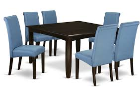 Winston Porter Marlene Square Kitchen Table 7 Piece Extendable Solid