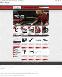 auto parts website template fit rite auto parts and eye catching ebay template