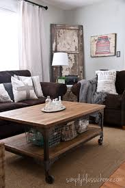 Beautiful Living Room Ideas Brown Sofa With A M Intended Perfect Design