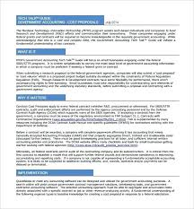 Proposal Template Free Stunning Hr Policy Sample Proposal Template Internal Business Free Government