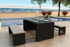 resin outdoor dining sets luxury wicker patio dining furniture outdoor dining furniture with bench