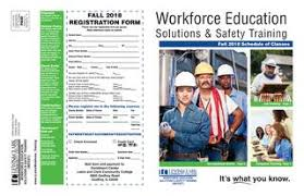 Workforce Education Solution Safety Training Fall 2018