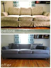 high heels and training wheels diy couch reupholster with a painter s drop cloth part