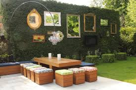 wooden garden dividers design ideas for outdoor privacy walls screen and curtains diy