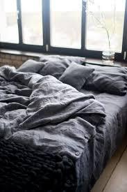 grey linen bedding bed linens luxury