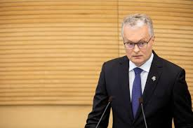 The state of the nation address (abbreviated sona; Nauseda S First State Of The Nation Address Today We Have Set Another Great Goal For Lithuania En Delfi