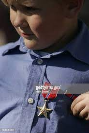 In a ceremony at the Camp Pendleton Marine Base, Nathaniel Maloney... News  Photo - Getty Images