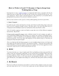 Resume Writing Tips Gorgeous Tips On Resume Writing Luxury For A Good Of 48 How To Write Great 48