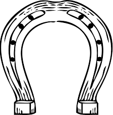 template horse free horseshoe template download free clip art free clip art on
