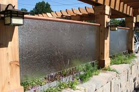 diy water wall landscape diy outdoor water wall fountain